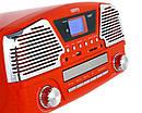 Музыкальный проигрыватель-грамофон Camry CR 1134 r - ГРАМПЛАСТИНКИ /CD /MP3 / USB/ SD, фото 7
