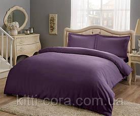 Простыня Violet из натуральной бязи. Цвет фиолетовый.