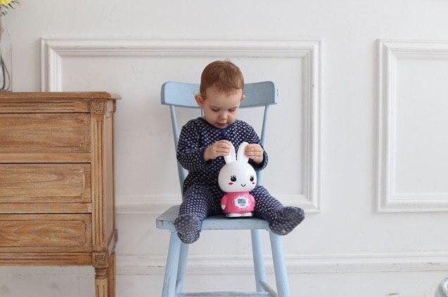 Alilo Большой зайка G7 детская интерактивная погремушка