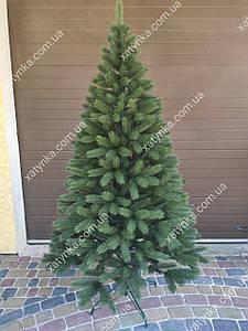 Литая елка Буковельская 2.30м. зеленая+гирлянда в подарок.
