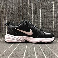 Мужские кроссовки Nike Air Monarch IV (черно/белые)