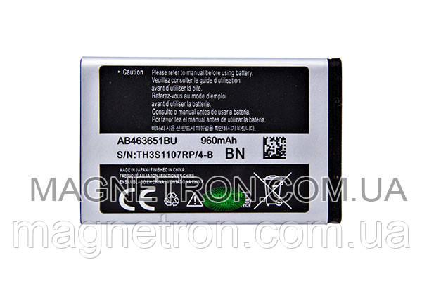 Аккумуляторная батарея AB463651BU Li-ion для мобильного телефона Samsung GH43-03216A 960mAh, фото 2