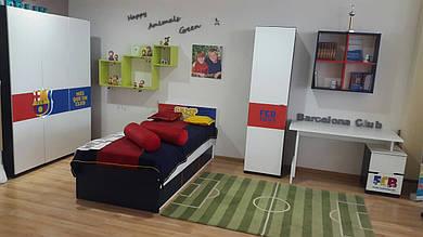 Акционная цена! Смена экспозиции! Комплект для молодежной комнаты Barcelona club
