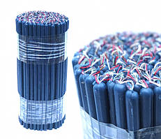 9060012 Свечи восковые магические пучек 1 кг. Синие