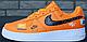 Мужские кроссовки Nike Air Force 1 Low Just Do It Orange, фото 9