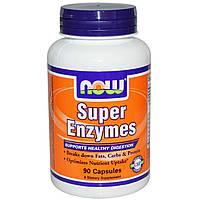 Пищеварительные ферменты (энзимы) Now Foods 90 капсул