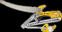 Секатор 15A256 Topex высотный для веток диаметром до 30 мм с пилой, с храповым механизмом
