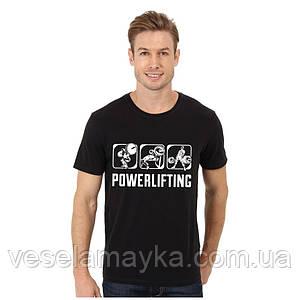 "Футболка ""Powerlifting 5 (Пауерліфтинг)"""