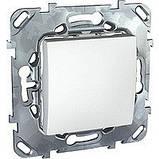 Выключатель 1-кл. проходной, белый. Unica MGU3.203.18, фото 3