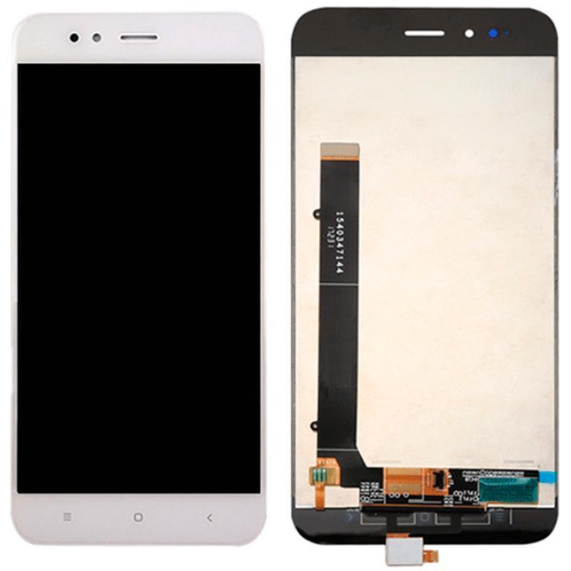 Дисплей і сенсор (модуль) на Xiaomi Mi A1 білий з рамкою