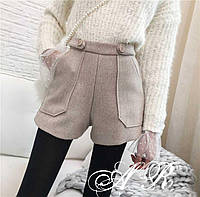 Стильные женские шорты с карманами 42-46 р