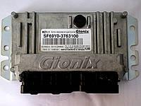 Блок управления двигателем 1,5л 8-клап+EGR 2014г Gionix / Украина на ZAZ VIDA, ШАНС sf69y0-3763100