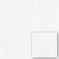 Обои Виниловые на флизелиновой основе под покраску 25м Синтра 676202               Обои 1,06м X 25м Белый