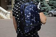 Рюкзак  синий ASOS асос мужской с принтом