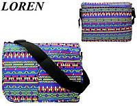 Сумка почтальонка Loren TN-3029 2327 разноцветная