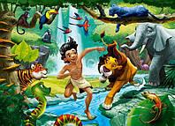 Детские пазлы Книга джунглей на 120 элементов Сastorland