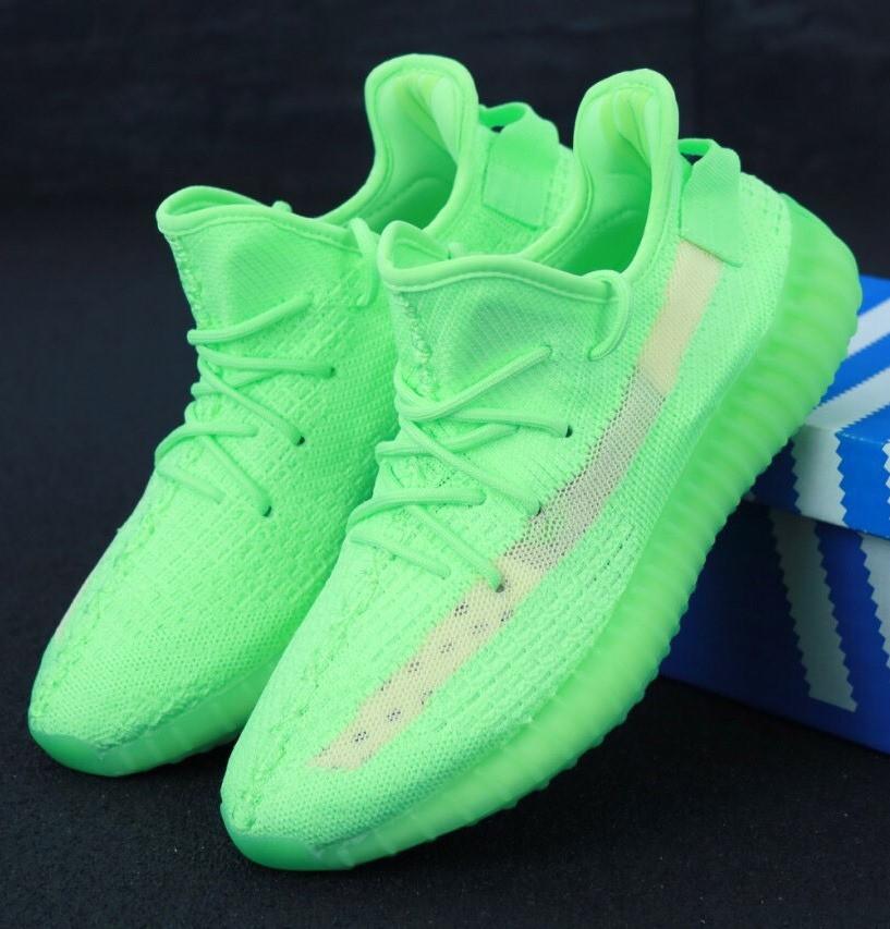 Мужские Кроссовки Adidas Yeezy Boost 350 Green