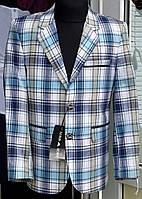 Пиджак клубный в клетку