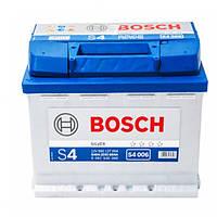 Аккумулятор Bosch S4 60 Ah 0092S40060 Пусковой ток 540 A, Левый +, Размеры на картинке