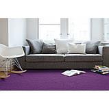 Фиолетовый ковер из войлочных шариков купить в Днепропетровске, фото 3
