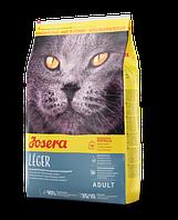 Josera Leger Полноценный корм для взрослых кошек с пониженными потребностями в энергии и стерилизованных, 2 кг jo539