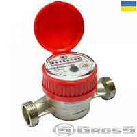 Счётчик воды Gross ETR-UA 15/110 гв без сгонов
