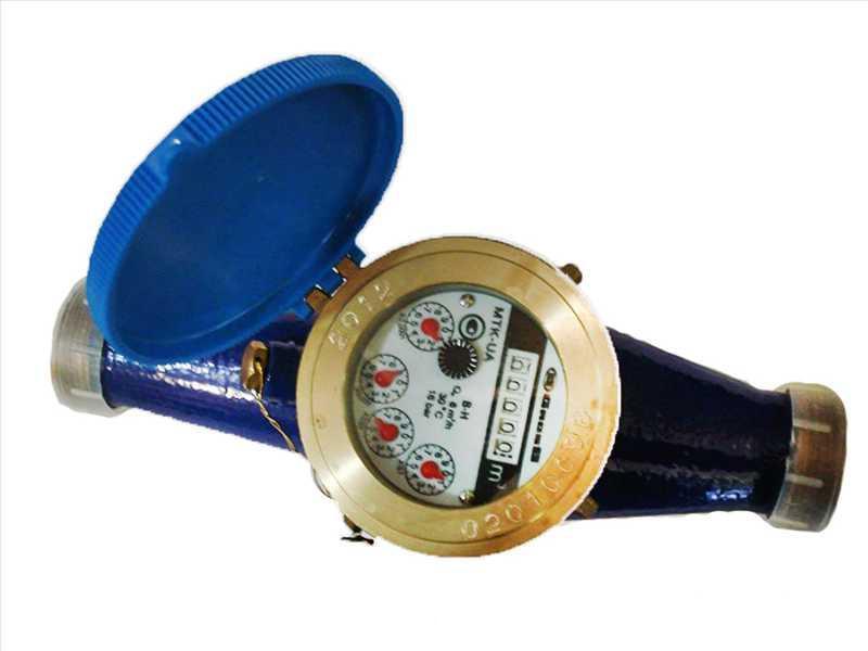 Счётчик водяной GROSS MTK(W)-UA 15 R80 без сгонов для холодной воды