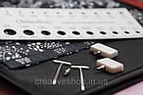 """Набір сталевих знімних спиць ChiaoGoo """"Small"""" 13 см, фото 4"""