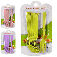 Набор столовых вилок 12шт/наб пластик