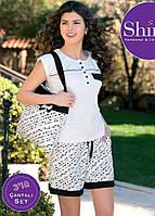 Комплект женский с шортами+сумка