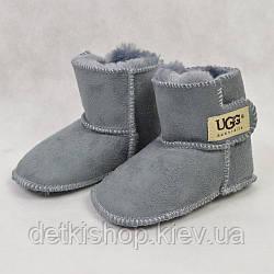 Дитячі уггі-пінетки UGG Australia (grey)