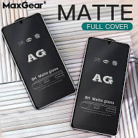 Матовое защитное стекло для смартфона Xiaomi Redmi Note 7 Pro Matte Black