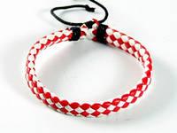 Браслет Раста *Red & White*