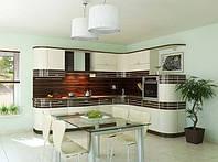 Кухни современные в стиле модерн с крашенными мдф фасадами фото 67