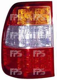 Фонарь задний для Toyota Land Cruiser 100 '05-08 левый (DEPO) внешний Led