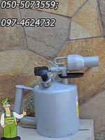 Паяльная лампа Мотор Сич (2 литра), паяльна лампа работающая на бензине, керосине, или на их смеси, фото 1