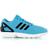 Мужские кроссовки Adidas ZX Flux Torsion синие с черным