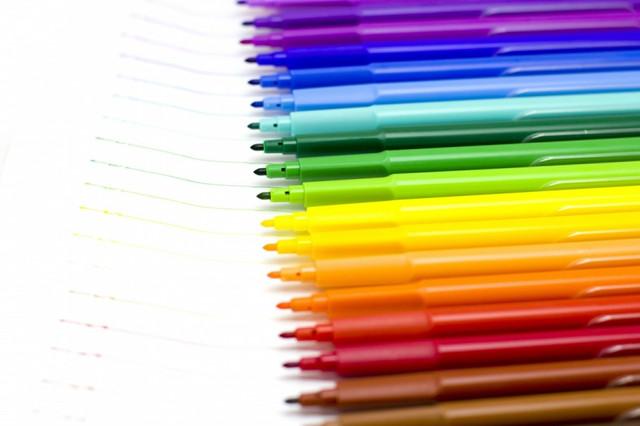 Фломастеры цветные