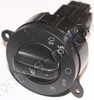 Переключатель света центральный (ЦПС) Газель (пластмасса черная) нов.обр. (Точмаш)