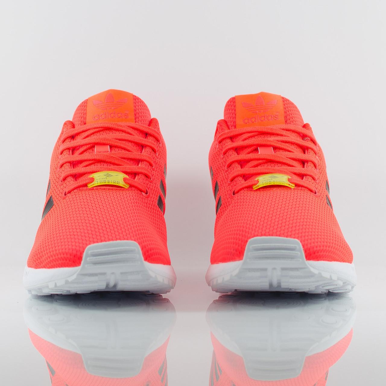 ... Мужские кроссовки Adidas ZX Flux Torsion красные с черным, ... 7865782e873