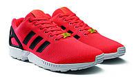 Мужские кроссовки Adidas ZX Flux Torsion красные с черным