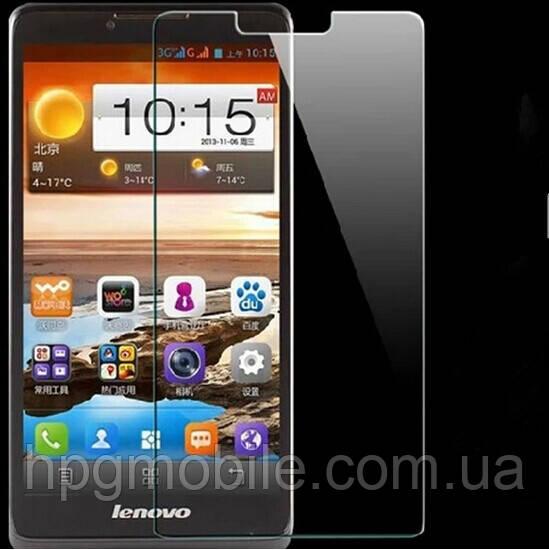 Защитное стекло для Lenovo A850+ (Plus) - 2.5D, 9H, 0.26 мм