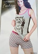 Жіночий костюм шорти і футболка(майка)
