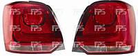 Фонарь задний для Volkswagen Polo '09- правый (DEPO)