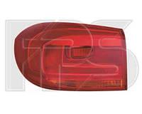 Фонарь задний для Volkswagen Tiguan '11- левый, внешний (DEPO)