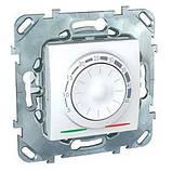 Терморегулятор для тёплого пола, белый. Unica MGU3.503.18, фото 2