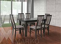 Обеденный комплект: стол Классик и стулья Марэк 1 (6шт)