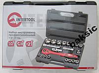 Профессиональный набор 21 ед, Intertool ET-6021