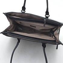 Женска сумка David Jones 29 x 38 x 15 см Черный (djcm3922t/1), фото 3