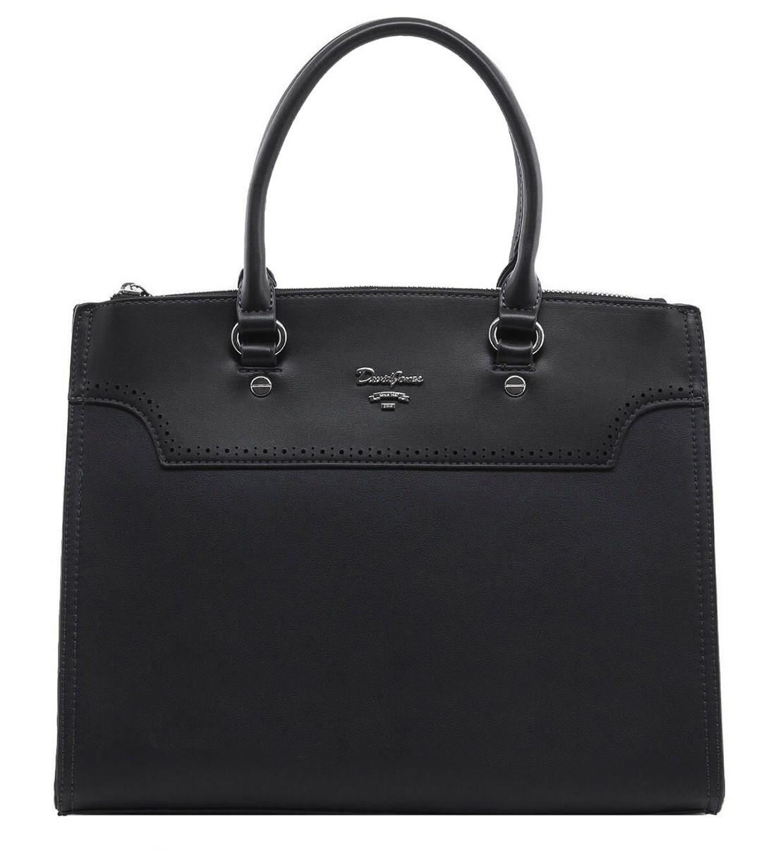 Женска сумка David Jones 28 x 32 x 10 см Черный (djcm5030/1)